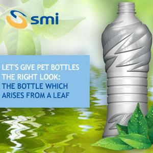 The bottle which arises from a leaf