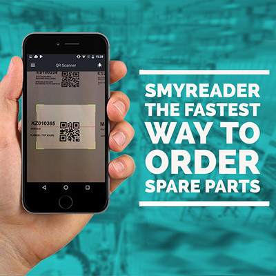 SmyReader The fastest way to order spare parts