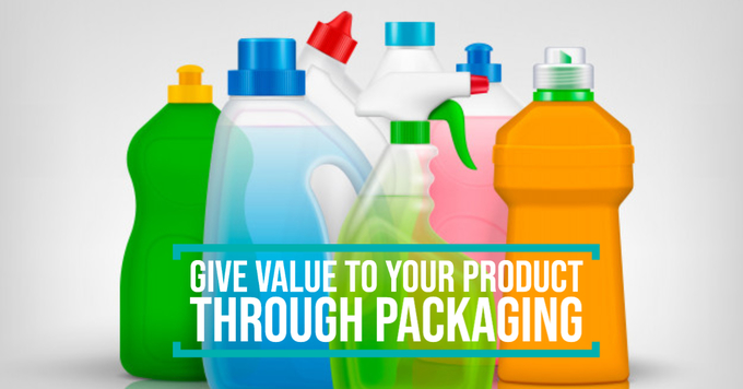 Give value to your product though packaging