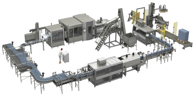 """Smart"" bottling and packaging plants"