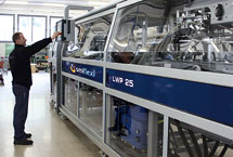 Newsletter N°4/2010: New LWP wrap around machine