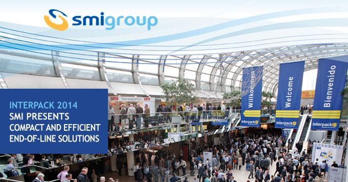 Interpack 2014: SMI presents compact and efficient end-of-line solutions