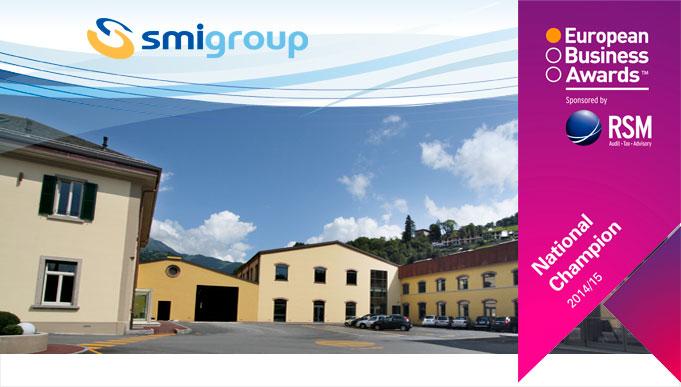 SMI è finalista agli European Business Awards 2014/2015