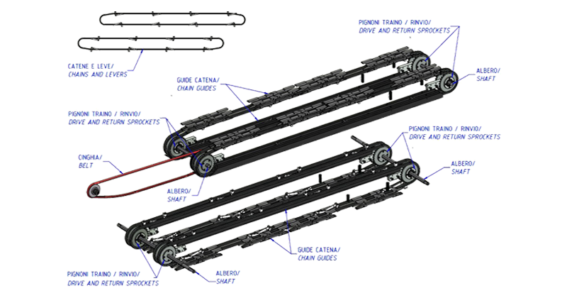 MT500057 – Former overhaul kit for wrap-around packer series WP