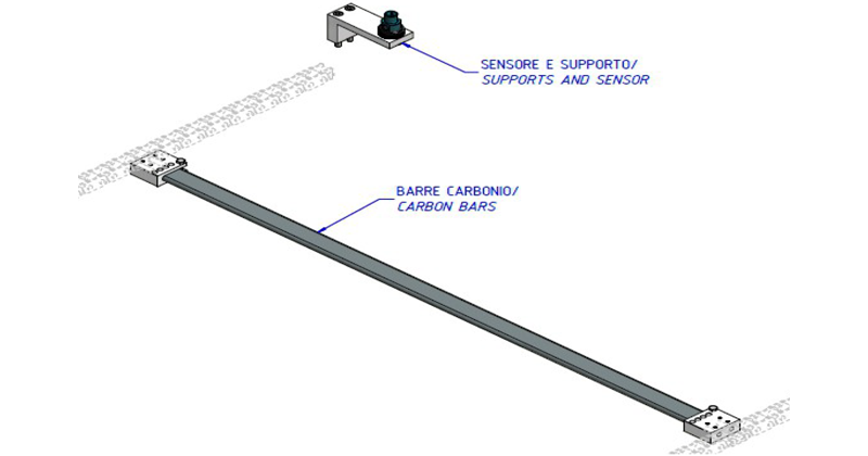 ZF010122 - Replacement of the wrapper bars with a carbon-made model