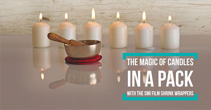 La magia delle candele in un pacco