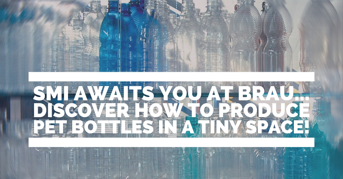 Ti aspettiamo al Brau! Scopri come produrre bottiglie PET in poco spazio