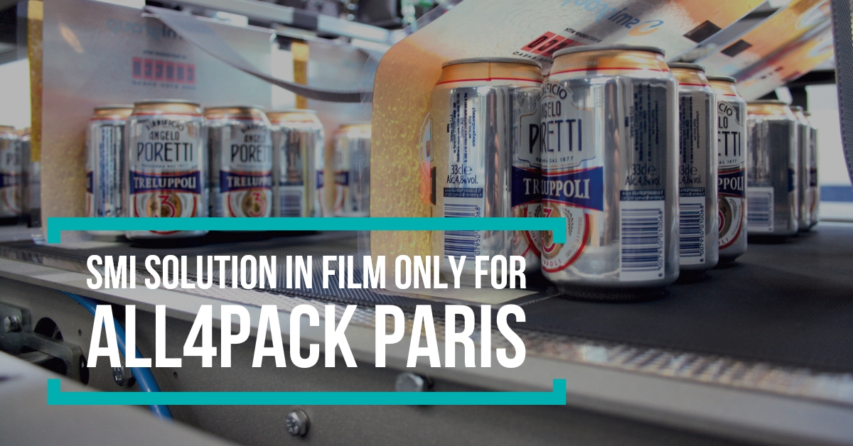 SMI solution in film only for All4pack Paris