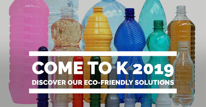Vieni al K 2019 e scopri le soluzioni ecosostenibili