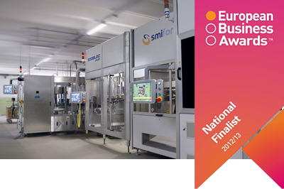 Newsletter N° 6/2012 - SMI è finalista agli European Business Awards