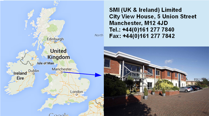 SMI (UK & Ireland) Ltd opens up!