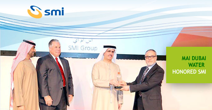 Mai Dubai Water honored SMI