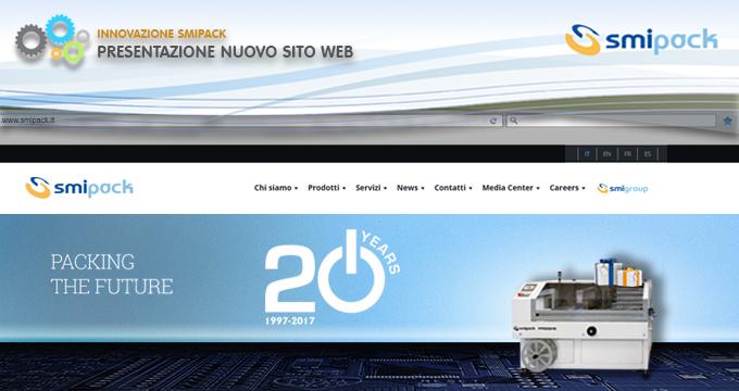20° anniversario e nuovo sito web