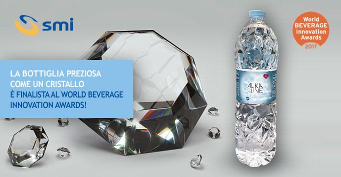 La bottiglia preziosa come un cristallo, è finalista al World Beverage Innovation Awards