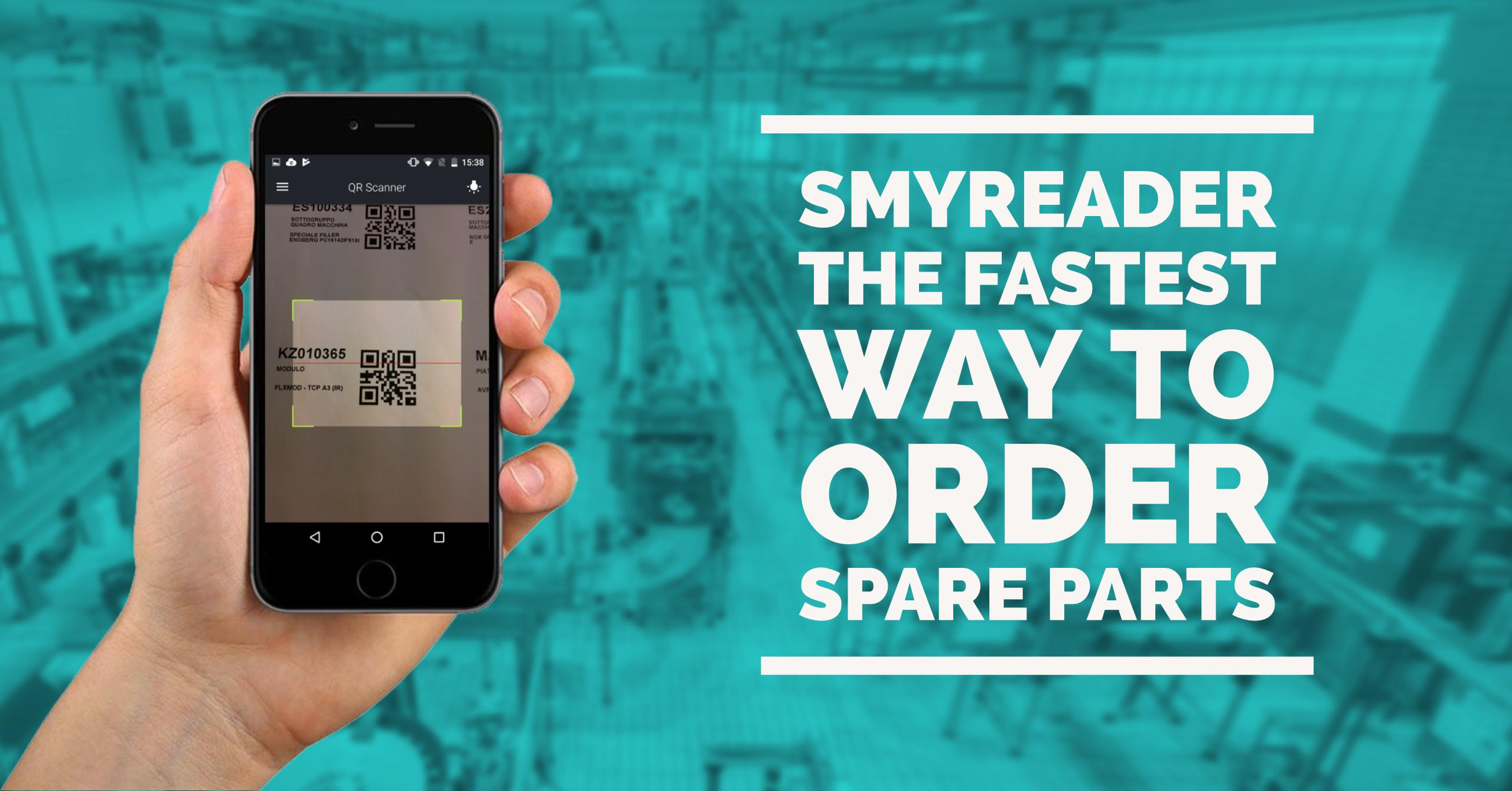 SmyReader. The fastest way to order spare parts